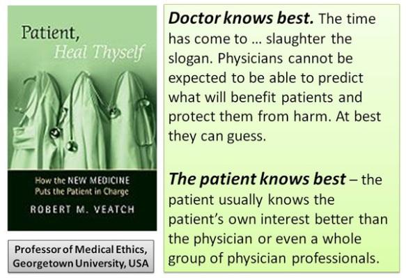 Patient-knows-best