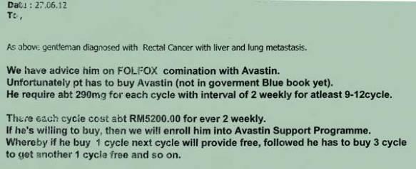 Folfox-Avastin