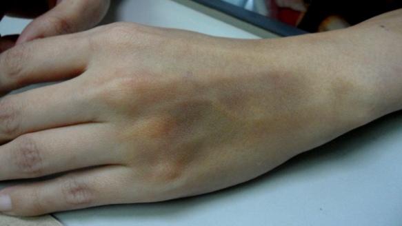 Blue-black-hand