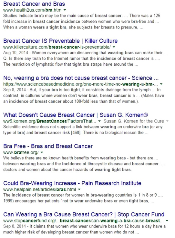 Bra-and-cancer