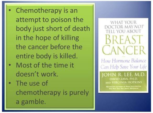 9 c Chemo kill patient