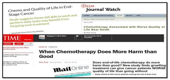 Chemo-MORE Harm than-g