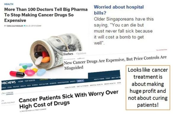 3 Cancer Drugs Expensive