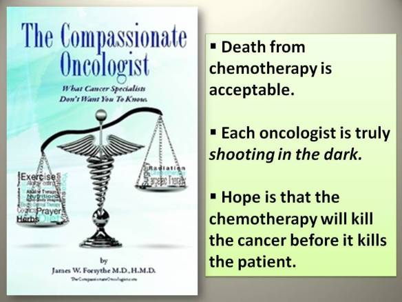 Chemo kill  Compassonate onco